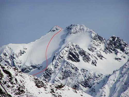 Ruderhofspitze ski tour -...