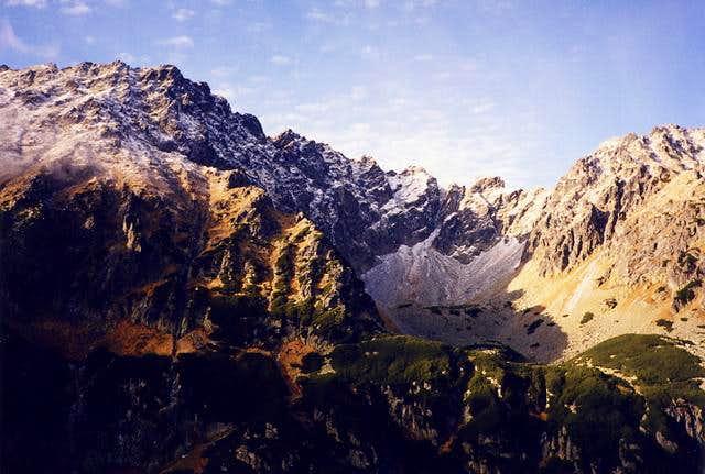 Kozi Wierch massif (on the...