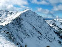 Prairie Creek Peak as seen...