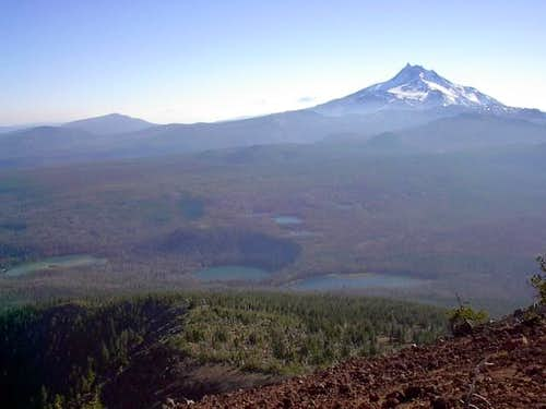 From Olallie Butte's summit,...