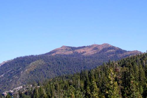 Signal Peak from the west,...
