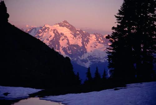 Alpenglow on Mt. Shuksan from...