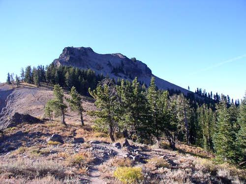 Anderson Peak from the PCT on...