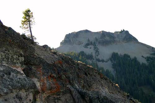 Anderson Peak from the north,...