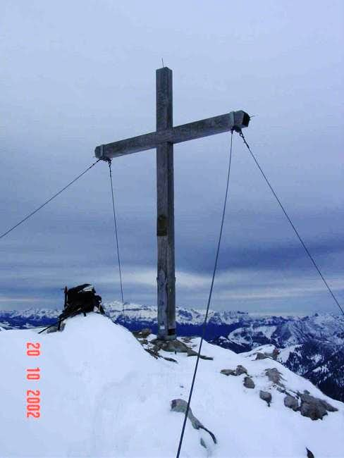 This is the summit cross,...