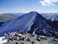 The view of Grays Peak from...
