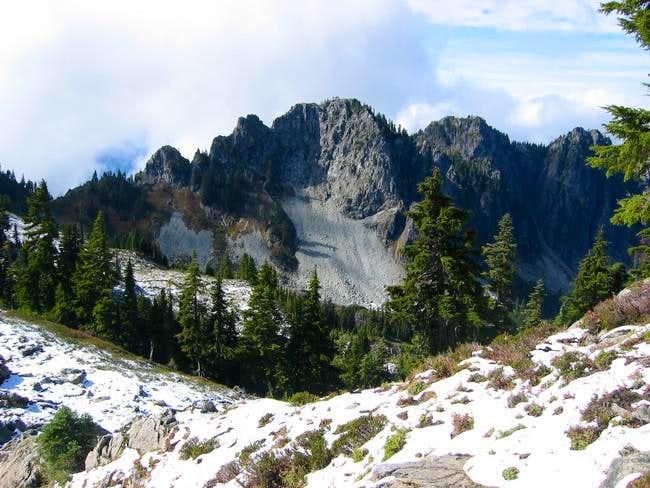 East face of Chutla Peak