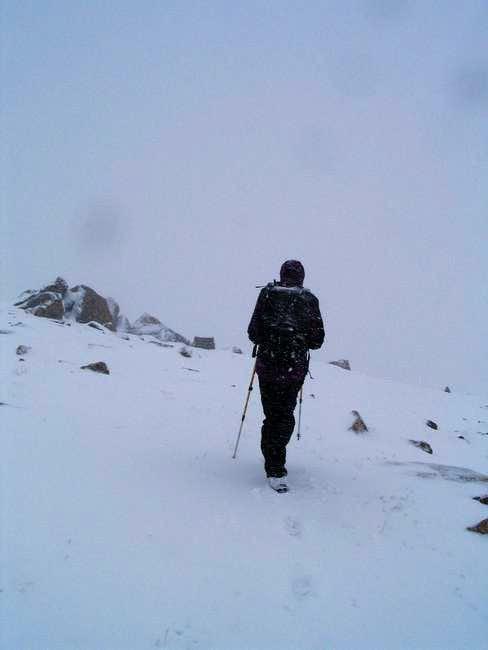 Descending East Ridge of S...