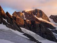 Sunrise on Gannett Peak from...