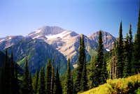 McDonald Peak from the north,...