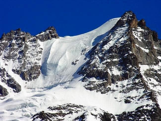 La parete nord della Roccia...