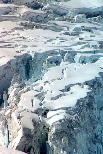 Close up of Fox-glacier, east...