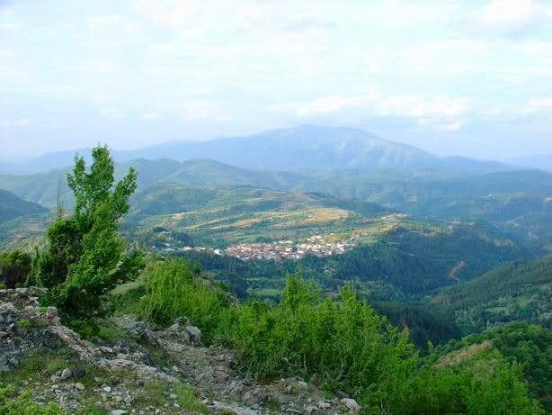 Oraio village, the photo is...