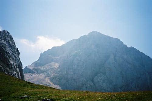 Gipfel des Mangart vom...