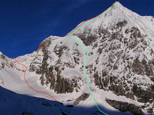 Ski tour from Sulden/Solda...