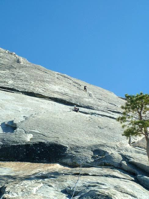 Climbers on the 1st and 3rd...