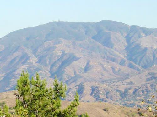 This is Sierra Peak from...