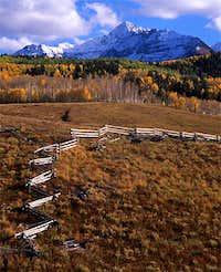 Wilson Peak as seen from...