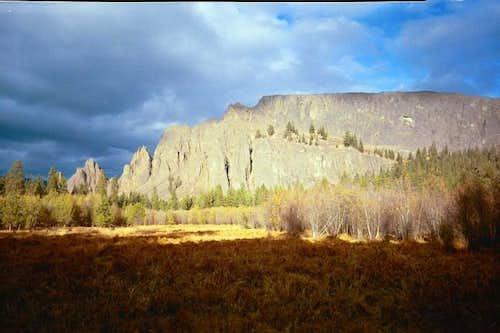 West side of Kloochman Rock...
