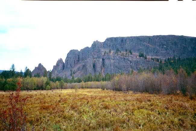 Kloochman Rock from a swamp...