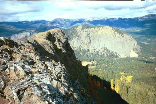 Goose Egg Mountain to the...