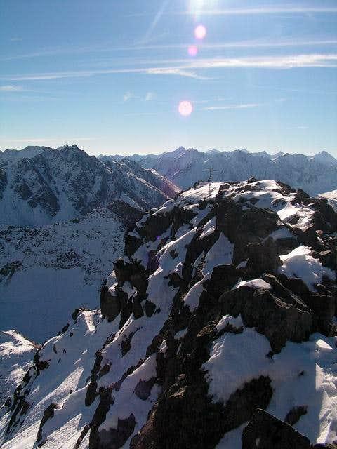 Summit of Sulzkogel -...