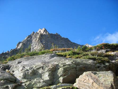 The summit from Tourmaline...
