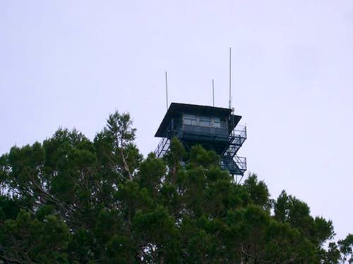 A view of the lookout tower...