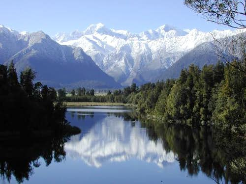 Mount Cook (and Mount Tasman)...