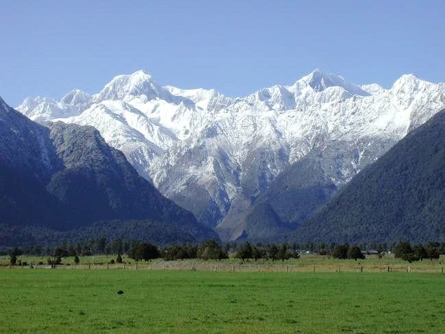 View of Mount Cook from the...