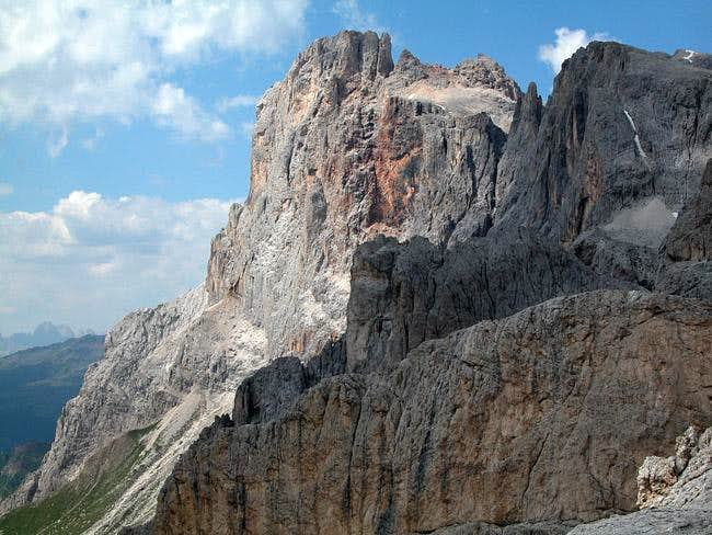 Cimon della Pala (3129m) as...