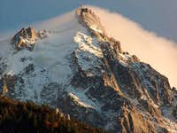 Aiguille du Midi seen from...