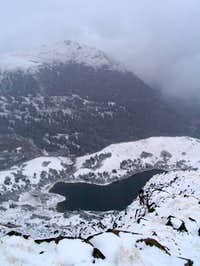 South Rawah Peak, view to...
