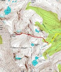 South Rawah Peak, East Ridge....