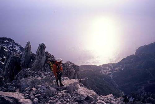 Near top of Mount Athos.The...