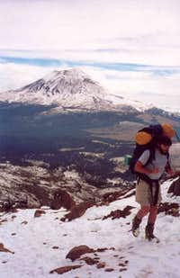 Patrick Coughlin climbing...