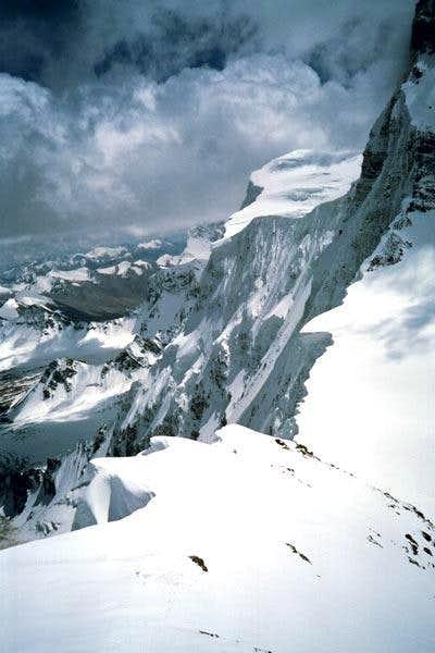 Kalaxon West ridge, view to...