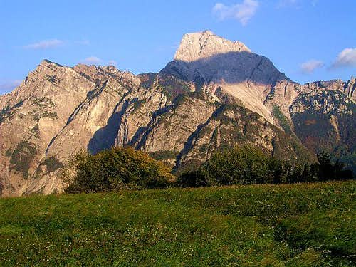 Monte Sernio, seen from the...