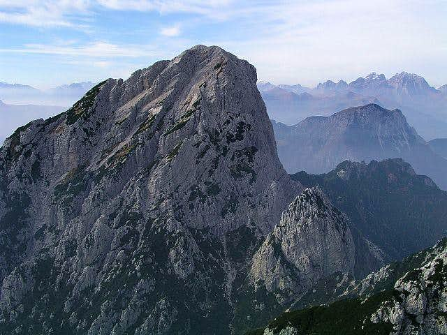 Monte Sernio from the east,...