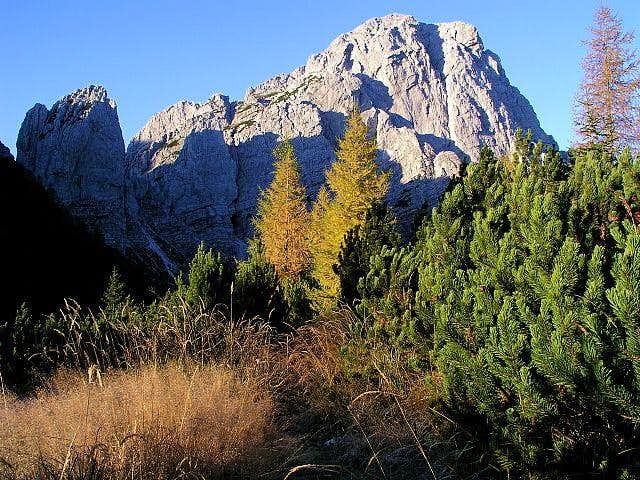 Monte Sernio from Foran da la...