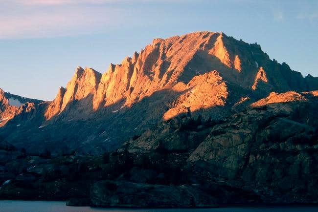 Fremont Peak from Island...