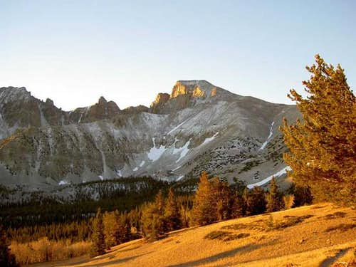 Wheeler Peak, October 6, 2005...