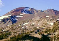The South Sister from near...