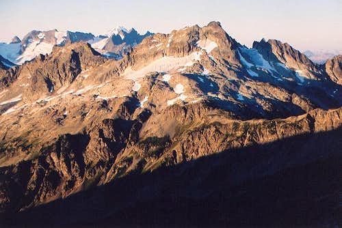 Le Conte Mountain from the...