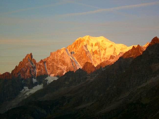 Italian side, early morning...