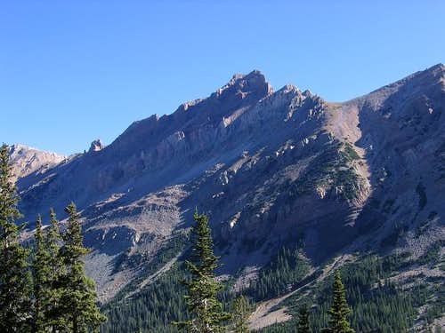 The west face of Mount...