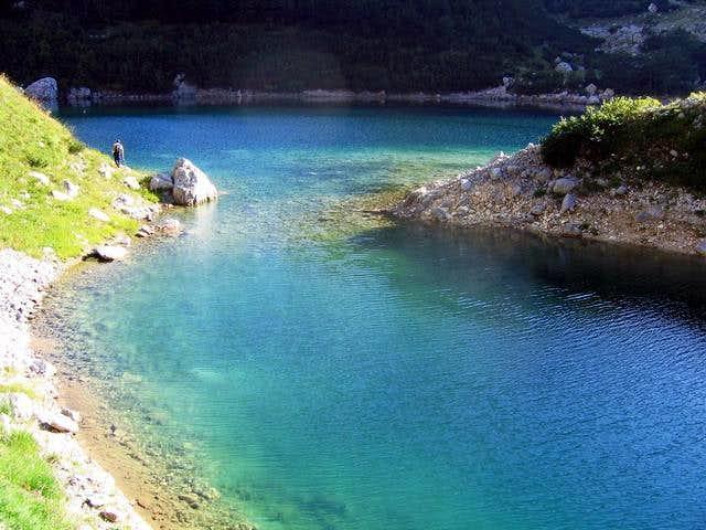 Small fjord of Veliko Skrcko...