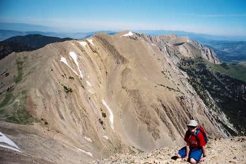 JD on the summit, July, 2005.