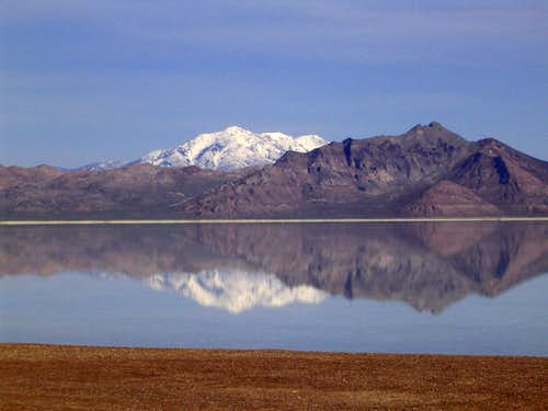 Silver Island Range and Lake...