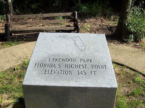 "The Florida ""High Point""."